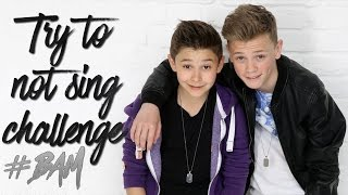 BARS AND MELODY | TRY TO NOT SING CHALLENGE !