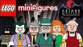 Lego Batman the Animated series moc minifigure series!!!