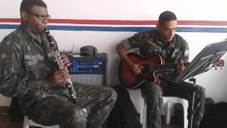 Tizil Clarinete e Farley violão tico-tico no fuba