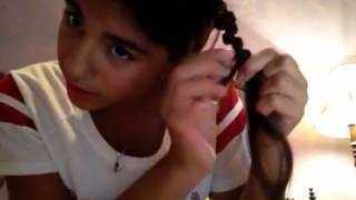 How to do a zig zag braid