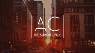 Red Shimmer Pads by Anthony Catacoli