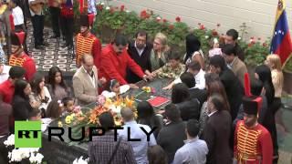 Venezuela: Caracas honours Chavez on 2nd anniversary of his death