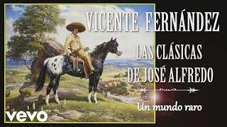 Vicente Fernández - Un Mundo Raro  - Cover Audio