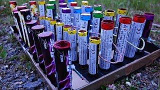ᴴᴰ SingleShot Salutbatterie SELFMADE (Flashbang, Thunder Kongs, Big Flashing Thunder)
