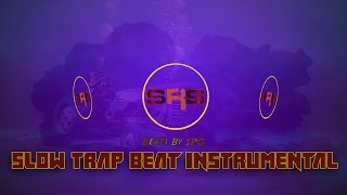 Slow Trap Beat Instrumental (FREE Download) | Beats By SPG