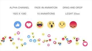 Go Live Facebook Emoticons Pack