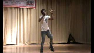 Shubhendra d-boy hindi rap live in csjm