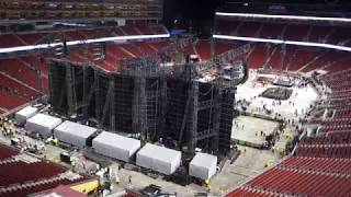U2 concert in Santa Clara teardown