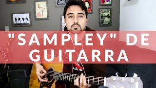 """Sampley"" de guitarra no violão kkkkk"