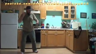 Can't Stop Dancing to Clean my Kitchen