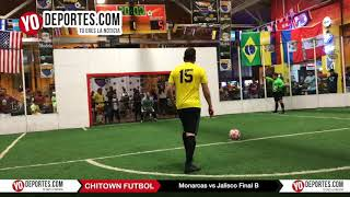 Penales Monarcas vs Jalisco Final B Jueves Chitown Futbol