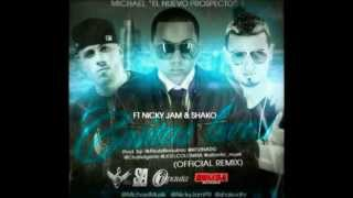 Michael Ft. Nicky Jam Y Shako -- Cositas Locas (Official Remix) ★REGGAETON 2012★/DALE ME GUSTA