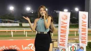 Love Battery (사랑의 배터리) - Hong Jin Young (홍진영) Live @ Yamaha Race (이색치열 레이스)