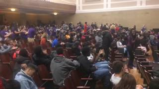 CJ Fam Performs at Roosevelt High School in DC