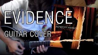 Marilyn Manson - Evidence (Chorus + Solo Guitar Cover)