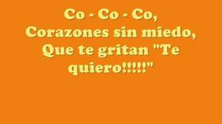 Flor 2 - Corazones Al Viento (LETRA)