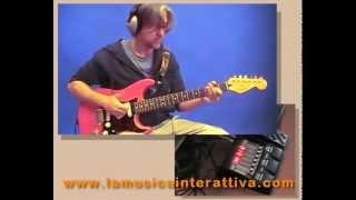 Chitarra Elettrica Slap Funk Rock digitech RP355 Rivera