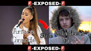 Ariana Grande Stole Quadeca's Flow...