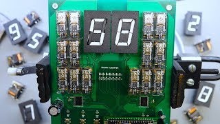 High Speed Mechanical Display 60FPS