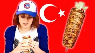 Irish People Taste Test Turkish Food