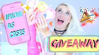 iPHONE 4S CASES GIVEAWAY! + iPhone Case Collection! 100 SUBS (CLOSED) ➳KRTL