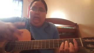 "Tutorial guitarra ""Vuelo Alto"" por yamillette marquez"