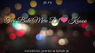 TU HI MERI ZINDAGANI HAI......... LOVE SONG (JB FV)