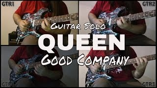 Queen - Good Company - Guitar Cover by Ciro Visconti (This Weeks Feat Guitarist)