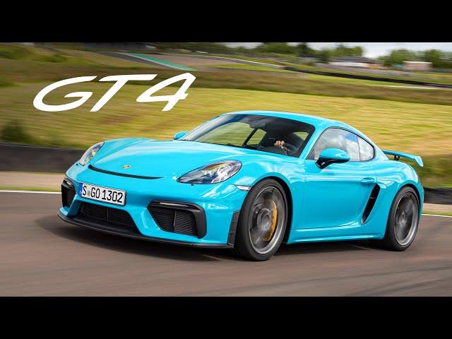 NEW Porsche 718 Cayman GT4: Track Review   Carfection 4K