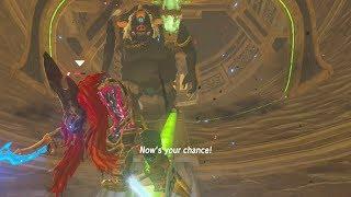 Father Hinox Meets ThunderBlight Ganon - Zelda Breath of the Wild