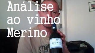 Prova de vinho tinto Merino