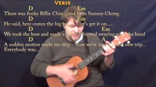 Kung Fu Fighting (Carl Douglas) Bariuke Cover Lesson with Chords/Lyrics