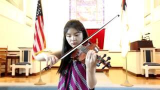 Rieding Violin Concerto in B minor op 35 3rd Mov  - Jennifer Jeon