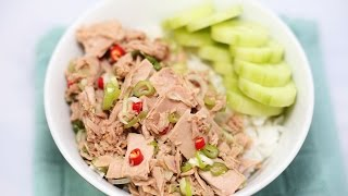 Rice Bowl Recipe : How to Make Healthy Tuna Rice Bowl Recipe