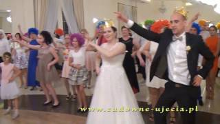 """""""Bomba""""   Zespółu Muzycznego """"ATLANTIS"""" na weselu u Aleksandry i Tobiasza"""