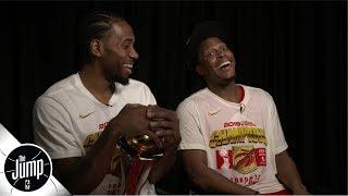 Kawhi Leonard, Kyle Lowry talk Raptors' rollercoaster season   The Jump