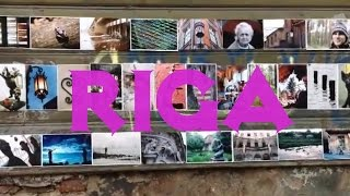 Beautiful Photo Installation in Riga Latvia • From Vilnius to Tallinn *Baltic states Travel vlogger*