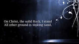 Worship Medley - In Christ Alone / Cornerstone / The Solid Rock | Caleb + Kelsey Mashup (Lyrics)