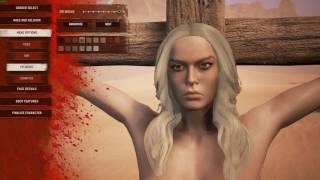 Conan Exiles - Character Customization - PC Gameplay
