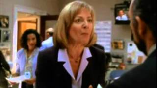 The West Wing - 3x06 CJ is too sexy for her shoes