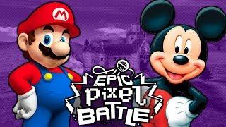 Mario VS Mickey - EPIC PIXEL BATTLE [EPB SAISON 1]