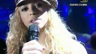 Shakira - Dude (Looks Like a Lady) - Live MTV - Tour Of The Mongoose
