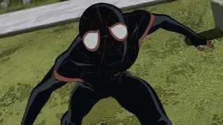 Ultimate Spiderman Miles Morales Music Video ( Linkin Park - Breaking the Habit) amv