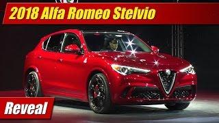 2018 Alfa Romeo Stelvio: Reveal