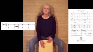 »Jimba, jimba« aus »33 Cajon-Lieder: Singen und Trommeln auf der Kiste«