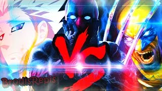 Ban VS. Deadpool VS. Wolverine | Confronto de Rap | Part: AkiraRap