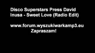Disco Superstars - Sweet love (radio edit)