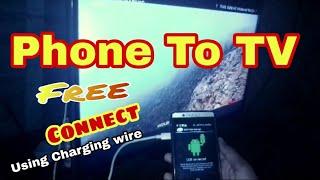 How to connect USB data cable mobile to TV ,USB से TV को कैसे connect करे पूरी जानकारी हिंदी में2017