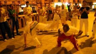 Capoeira Oxossi Cagliari Roda de Rua Piazza Garibaldi