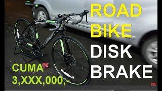 Sepeda Balap Element FRC51 Disc brake . Rivalnya Polygon Stratos dan United Inertia #584